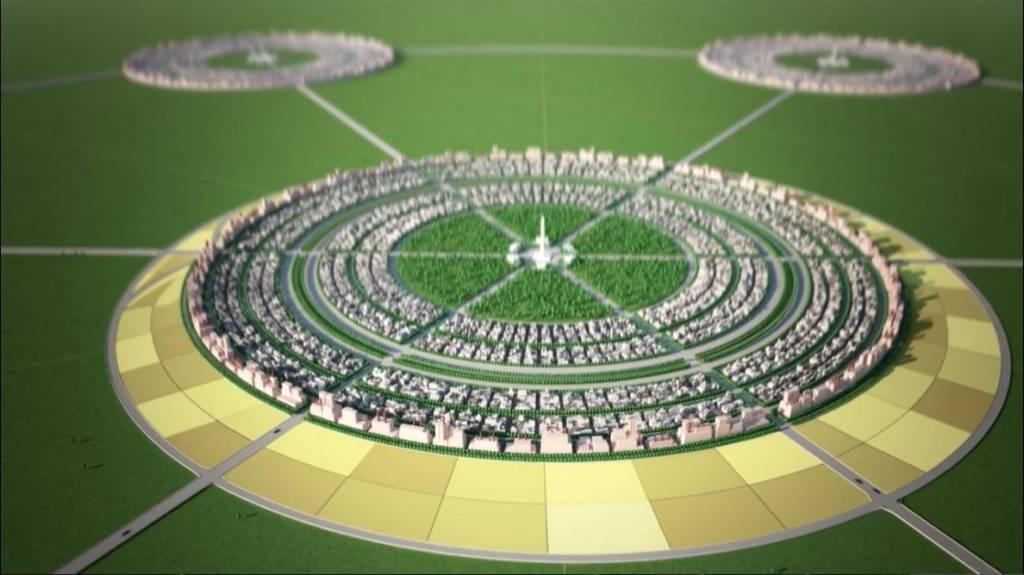 Город-сад: модель земного рая